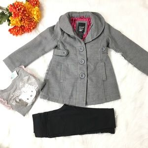 3-piece set for 5 year old girl.